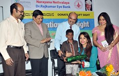 Actress Sanjjanaa-For a social cUse @ an eve donation camp for a charity social cause (2)