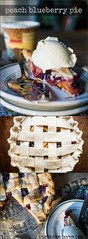 Peach Blueberry Pie (Smells Like Home) Tags: pie peach blueberry fruit lattice picmonkey