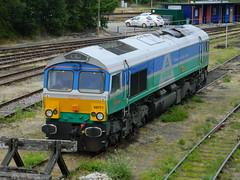 66711_06 (Transrail) Tags: class66 emd shed diesel locomotive coco gbrf tonbridge gbrailfreight 66711 aggregateindustries sence
