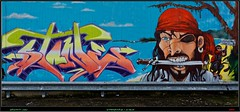 Graffiti 2016 (pharoahsax) Tags: graffiti wissembourg elsass alsace france frankreich pmbvw bw kunst art streetart street urban urbanart paint graff wall artist legal mural painter painting peinture spraycan spray writer writing artwork tag tags worldgetcolors world get colors