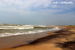Sea beach ,Baruva (Amby2506) Tags: beach solitarybeach waves baruva seabeach sea andhrapradesh india palasa playinbeach njy