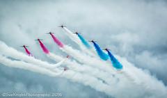 Bournemouth Air Show (sueknightphotography) Tags: redarrows formation airdisplay airshow pilot speed sky redwhiteandblue