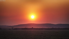 Atardecer de campo (GaboUruguay) Tags: campo atardecer sunset sol nature naturaleza natural travel silueta dawn cerro countryside silhouette hill uruguay canon sx50 rocha autofocus