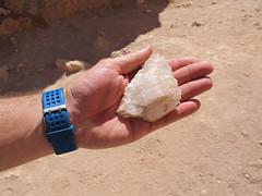 """Le désert d'Atacama: crystal de sel trouvé au pied de la Duna Mayor (Valle de la Luna) <a style=""""margin-left:10px; font-size:0.8em;"""" href=""""http://www.flickr.com/photos/127723101@N04/29228954045/"""" target=""""_blank"""">@flickr</a>"""