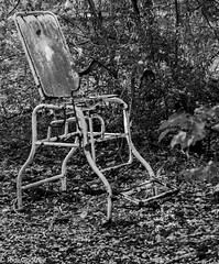 Medical hospital chair (Dave and Jodi Piddington) Tags: chernobyl ukraine holiday decay abandonedbuildings death history nucleardisaster accident travel dark tourism darktourism photography architecture nuclear disasters adventure kiev blackandwhite