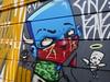 Amazing Street Art (netotorres82) Tags: sao paulo street art bad good god outside graffiti guy blue angel demon wings tourism turismo