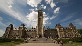 Parlamento del Canada, Centre Block con la Peace Tower (Ottawa)