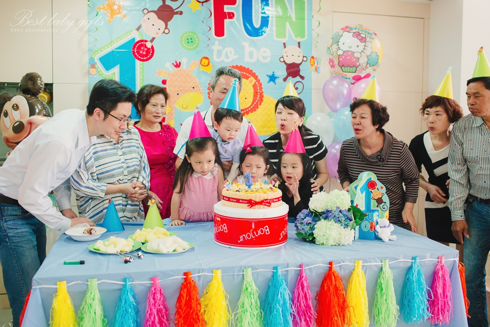寶寶生日派對拍照記錄攝影