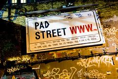 Pad Street (Bob the Binman) Tags: nikon d7100 graffiti london waterloo lambeth grime urban hccc leakestreet padst www londonist