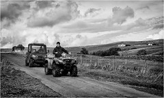 Ettersgill . (wayman2011) Tags: fujifilmx100 lightroom tclx100 wayman2011 bwlandscapes mono people farmers farming rural pennines dales teesdale ettersgill countydurham uk