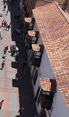 Tejas 10 am (Fedefantastico5) Tags: tejas colonial espaol colombia travel roofing higher views birds morning nikon