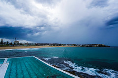 DSC01442 (Damir Govorcin Photography) Tags: bondi beach storm clouds water swimming pool sydney zeiss 1635mm sony a7ii rain surf