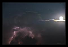 Temporale VI (Emilio Casini) Tags: clouds cloud nuvole nuvola temporale notte night luna moon lightning thunderstorm nikond800e