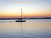 Flat on the Amelia River, Sunset, Fernandina Beach