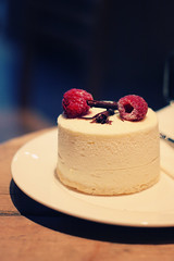 Sweet moment (alme_erno) Tags: cake sweet chocolate creme pastry gourmand rapsberry