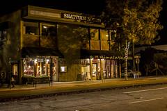 Shattuck North (tokyoexpressway) Tags: sf sanfrancisco california street light streets night restaurant berkeley store nighttime norcal shattuck