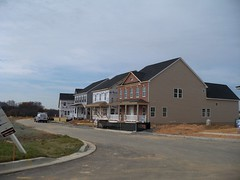 New home construction, in Clarksburg, Montgomery County, Maryland, USA. (sebypires) Tags: county new usa real dc washington md construction community cookie village estate metro suburban suburbia progress maryland boom neighborhood hills growth master area suburb montgomery growing outer sprawl arora development cutter metropolitan planned mcmansion suburbanization subdivision urbanization boomtown booming unincorporated clarksburg mcmansions urbanized boomburb suburbanized