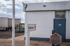 Station #2. (Jérôme Cousin) Tags: road station truck nikon highway toilet gas route wc camion freeway service essence autoroute gasoline nikkor toilettes avia 18105 pomp chiottes d5000