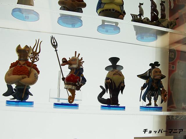 海賊王WCF新品展覽照片