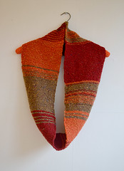 New hand knitted scarf (Colorful Senses) Tags: scarf neck handmade scarves knitted snood wormer handknitted
