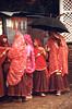 Jour de fête à Jaïpur (Jean d'Hugues) Tags: inde jaïpur indiennes rouge fête