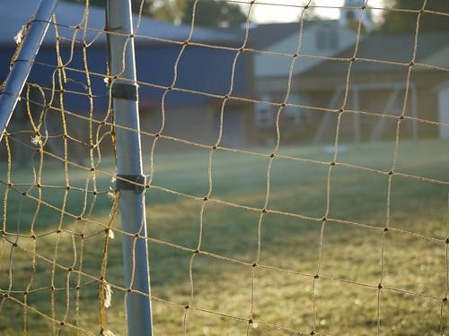 football goal soccer netting
