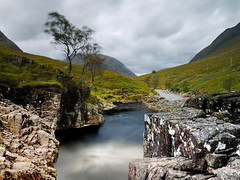 THE WINDBLOWN TREE (kenny barker) Tags: longexposure tree landscape lumix scotland day cloudy glencoe scottishlandscape landscapeuk panasonicg1 welcomeuk kennybarker