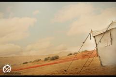مخيمنا الشتوي .. (Abdul Rahman Nasser) Tags: تصوير ل غيوم مخيم خيام خيمه احترافي ممطره