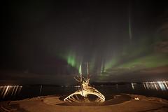The Sun Voyager (IMG_7535) (Jennika Argent) Tags: iceland northernlights auroraborealis 2012