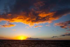 Sunset off Napali Coast (David Y. Allen) Tags: hawaii coast sunsets kauai napali