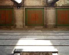 Haus der Kunst, porch mosaic