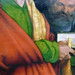 Dürer, The Four Apostles, detail with Bible and key