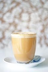 morning coffee... (ggcphoto) Tags: blur coffee 50mm bokeh cappuccino morningcoffee sonyalpha gettyimagesirelandq12012 yahoo:yourpictures=yourbestphotoof2012