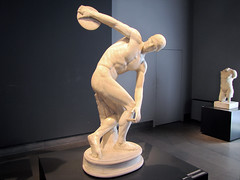 Myron, Discobolus from right