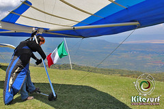 Hanglider and Paragliding in Tapalpa, Jalisco, Mexico (Kitesurf Vacation Mexico) Tags: mexico san laguna paragliding seca marcos tapalpa paragliders sayula hangliding hanglider