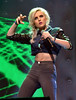 Perrie Edwards of Little Mix Cheerios Childline Concert 2012 held at the O2 Arena