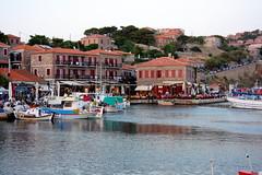 Molivos Harbor (Atila Yumusakkaya) Tags: harbor greece lesvos molivos mygearandme flickrstruer