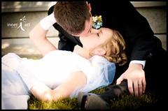Amber & Jake - 1 (inneriart) Tags: family wedding woman man cute male love female religious photography groom bride amber utah amazing nikon hug kiss artist jake emotion affection sweet u