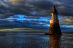 PLOVER SCAR LIGHTHOUSE, COCKERHAM SANDS, COCKERHAM, LANCASHIRE, ENGLAND. (ZACERIN) Tags: scar sands plover lighthouse lighthousetrek england lightkeeperaward lancashire cockerham cockerham