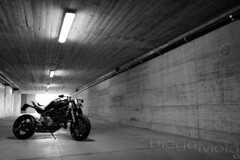 Ducati Ms4R by Paolo Tex (Diego Mola) Tags: ducati ms4r paolotex paolo tex tesio biker moto diegomola bikerlife pirelli speed foto photo picture motorcycle bike motor camera photography vignetting mola diego helmet light luce riflesso reflection sbaffo smudge sport casco life tuning restyling new style s4 s4r qd exaust testastretta monster 996 996cc naked 1000 17404 l canonef1740mmf4lusm canon eos 7d flash speedlight 580 580ex ii ombra shadow silhouette special bn black white bianco nero blackwhite bw
