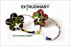 Extrudinary - 15 Ways To Re-Discover Your Polymer Clay Extruder | NEW Tutorials (Iris Mishly) Tags: ceramica art israel necklace hand handmade jewelry fimo clay handcrafted classes polymer millefiori arcila ceramicaplastica irismishly polimerica arcillapolymerica polymerclaytutorial clayextruder howtouseclayextruder