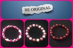 Be original (Beinspiredaccessories) Tags: handmade jewelry bracelet inspire lightpink armcandy hotpick