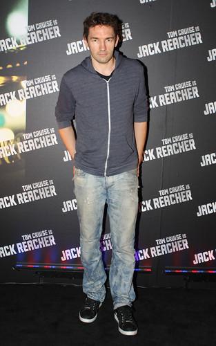 red jack carpet premiere reacher