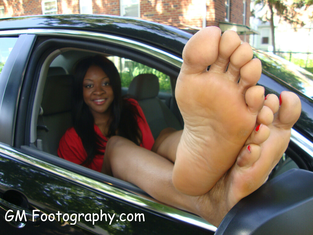 Ebony girls soles