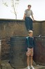 Back Courts Easterhouse 1990s