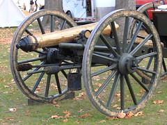 Civil War Artillery, 150th Anniversary Battle of Prairie Grove - Northwest Arkansas (danjdavis) Tags: anniversary civilwar cannon artillery arkansas arkansasstatepark battleofprairiegrove prairiegrovebattlefield artillerypiece sesquicenntenial