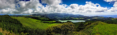 Cloudy Panorama of the Lagoa das Furnas (Municipality of Povoao, Island of So Miguel, Aores, Portugal) [Explored 2012-12-05] (Michael Mehl) Tags: sea sky panorama cloud lake mountains green portugal water miguel clouds canon geotagged eos iso100 see coast meer wasser europe hyperfocal himmel wolke wolken hills berge 7d vulcan das lagoa grn mehl f8 so stitched azores kste furnas aores vulkan 1200s 70mm hgel 2470mm vulkanisch 1400s povoao ef2470mm eos7d michaelmehl geo:lat=3775424600 geo:lon=2535528300 vulanic mehlname