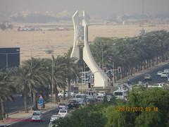 Sport R/A , Doha - State of Qatar . (Feras Qaddoora) Tags: sport state roundabout ra doha qatar