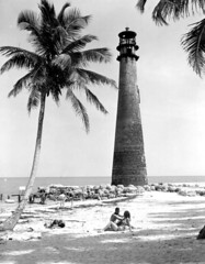 Cape Florida Lighthouse (State Library and Archives of Florida) Tags: sand lighthouses florida seminoles beaches recreation keybiscayne dadecounty capefloridalighthouse aidstonavigation historiclighthouses statelibraryandarchivesofflorida historicpreservationmonth departmentofcommercecollection secondseminolewar18351842