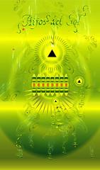 HIJOS DEL SOL (Marco Tulio / Oasis Creatio) Tags: sun eye illustration digital omega sunday digitalart drawings type illustrator ilustracion